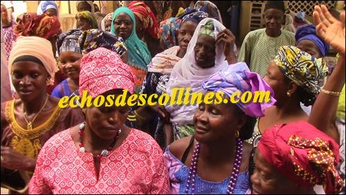 Kédougou: Le Ministre de l'hydraulique M Mansour Faye , accueilli à Kédougou.