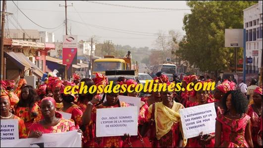 Kédougou: Les femmes enseignantes ont commémoré le 8 mars