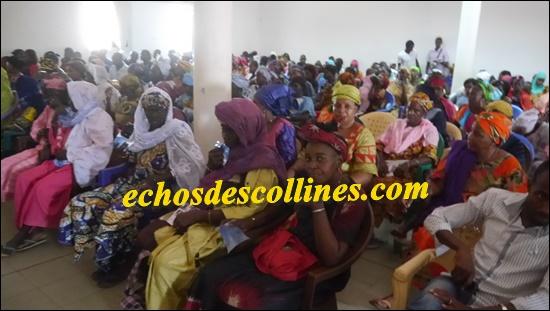 Kédougou: L'ADK mobilise plus de 200 Femmes et jeunes