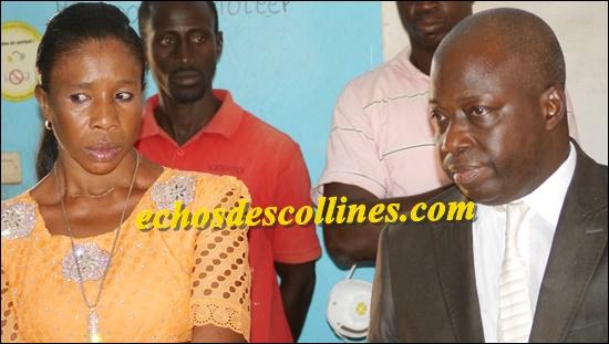 Kédougou: Assane Dia, le PCA de la SODEFITEX en visite à la rizerie Maromen.