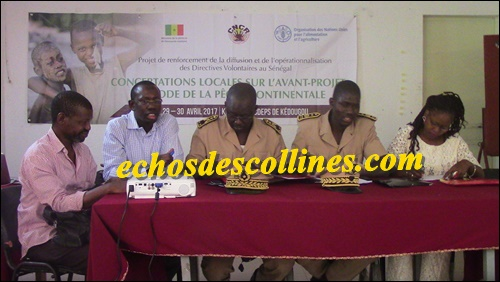 Kédougou: Vers l'élaboration d'un projet de code sur la pêche continentale