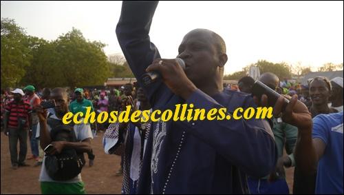 Fodé Keita, le maire de la commune de Dimboli rassure…