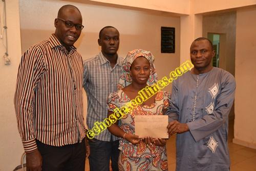 La pouponnière «Gallé bobo» reçoit un appui du Conseil Départemental de Kédougou