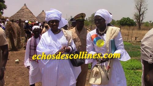 Kédougou: Mariama Sarr, Ministre de la femme, de la famille visite les réalisations des femmes