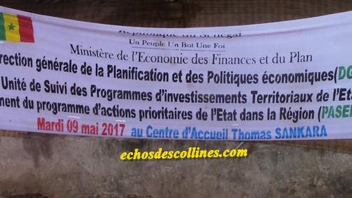 Kédougou: Lancement officiel du Programme d'Actions Prioritaires de l'Etat(PASER).