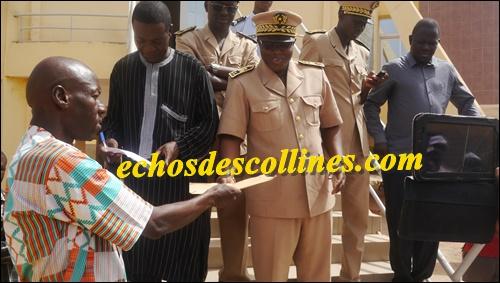 Kédougou: Le Gouverneur William Manel reçoit les doléances des travailleurs