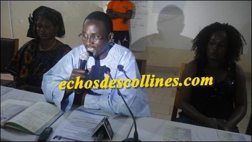 El hadj Amadou Kane Diallo ancre le mouvement Bamtaaré à Kédougou