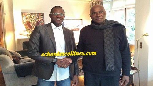 Diaspora: Me Wade reçoit Boye Souaré, le nouveau coordonnateur départemental du PDS de Kédougou