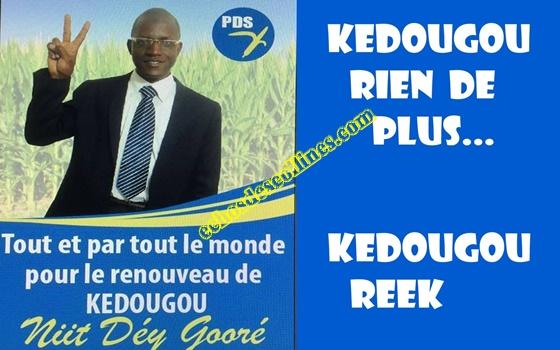Kédougou: Boye Souaré a été investi, candidat de la coalition Wattu Senegaal