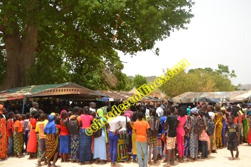 L'école de Mako sou a été baptisée école El hadj Karamokho Keita.