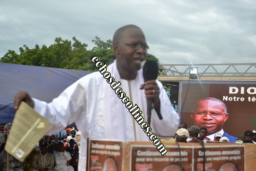 Kédougou: Le premier ministre sérère Mohamed Boun Abdallah Dionne veut…