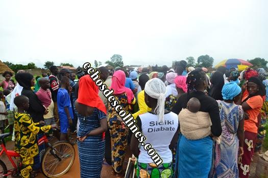 Kédougou: Mamadou Hadji Cissé offre un cadeau «surprise» aux habitants de Kongori