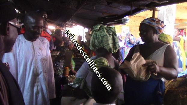 Kédougou: Le candidat de BBY au chevet des commerçants