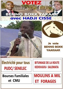 Kédougou: (Audio) Electeurs, M Lessény Sy, vous appelle à…