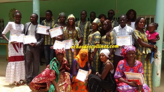 Kédougou: Sortie de plus d'une trentaine de jeunes diplômés du CFPAD…