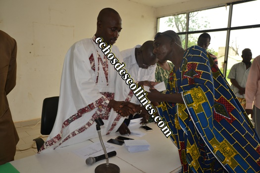 Kédougou: Le conseil municipal porte secours aux indigents