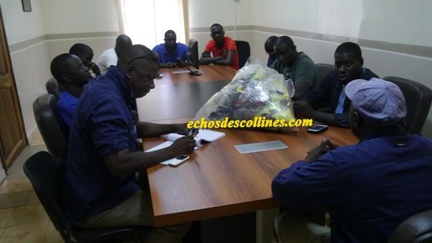 Kédougou: La SGO appuie l'ASC KEC pour son départ pour ….