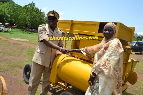 Kédougou: Des matériels agricoles offerts aux producteurs par le…