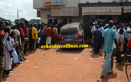 Kédougou: Accident, le pire évité de justesse prés de la banque…