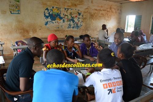 A Kédougou l'ONG KEOH et le CDPE forment les élèves des gouvernements scolaires et les enseignants sur la maltraitance des enfants