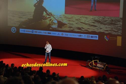 Envoyé spécial echosdescollines.com: Démarrage de la 26ème édition du festival international du film d'aventure de Dijon