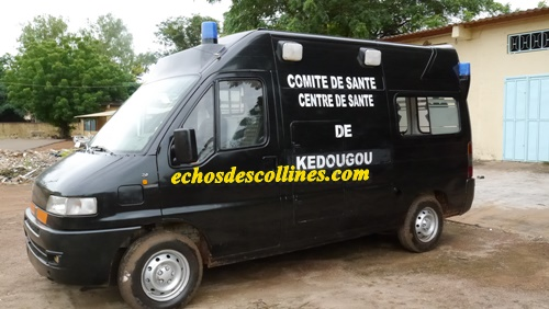 Kédougou: Le comité de santé offre un corbillard au centre de santé de Kédougou