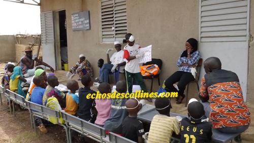 Kédougou: Célébration de la journée mondiale de lavage des mains