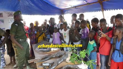 Kédougou: 10 novembre, les forces de défense et de sécurité montrent…