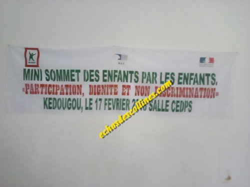Kédougou: Un mini Sommet pour conscientiser les enfants sur leurs droits.