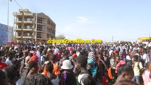 Kédougou: Les élèves dans la rue pour alerter l'opinion publique sur la crise scolaire