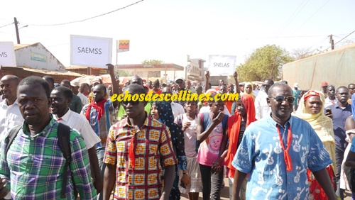 Kédougou: Les syndicats d'enseignants toujours et encore dans la rue