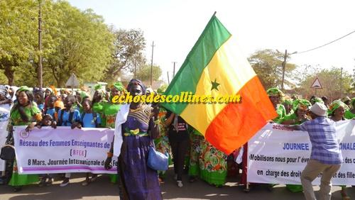 Kédougou: La journée internationale de la Femme a été célébrée ce lundi