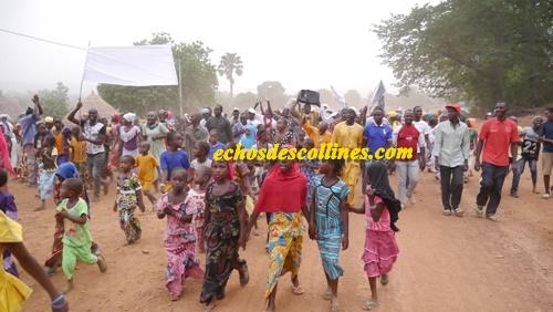 Kédougou: La population d'Ibel dans la rue pour exprimer sa joie