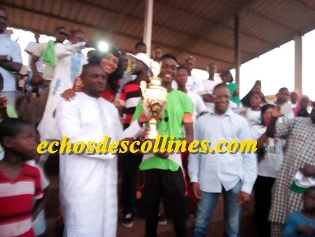 Kédougou, la finale de la 4ème édition du tournoi de la fraternité hommage à feu Bou Diakhité a été jouée ce samedi