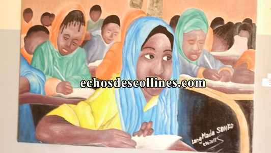 Kédougou: Des artistes exposent leurs œuvres à la chambre de commerce