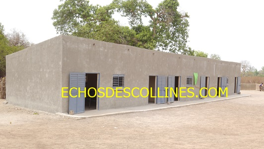 Baitilaye: Les classes construites par les ressortissants de Baïtilaye Diakha inaugurées.