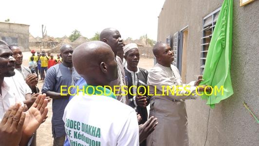 Kédougou: A Baïtilaye Diakha, la communauté construit 3 salles de classes et inaugure