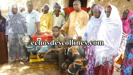 Kédougou: Un moulin à mil offert aux femmes de Djindji