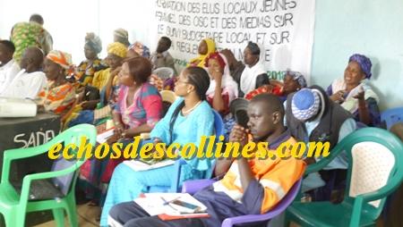 Kédougou: L'ONG SADEV veut pour Tomboronkoto de nouveaux types de citoyens plus engagés et redevables…
