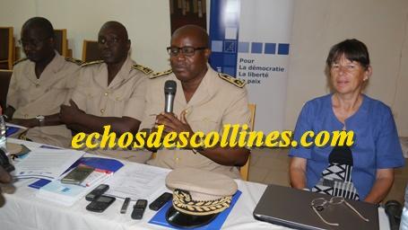 William Manel, Gouverneur de région de Kédougou parle aux journalistes:
