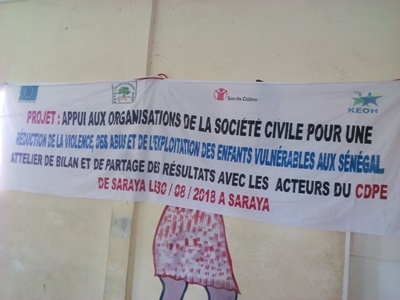 Saraya: L'ONG OFAD Naforé partage les résultats de son projet aux acteurs