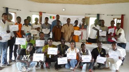 Kédougou: 18 jeunes formés sur le guidage