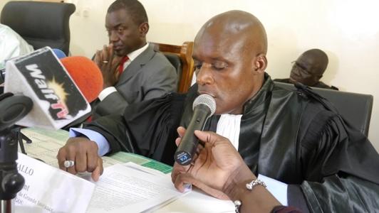 Alioune Diallo, le président du Tribunal de Grande Instance de Kédougou: «Nous nous emploierons à donner le meilleur de nous même».