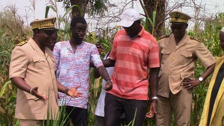 Kédougou: Le Gouverneur a fait sa tournée Economique.