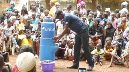 Kédougou: Les élèves sensibilisés sur le lavage des mains