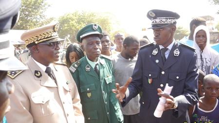 Kédougou: Les forces de défense et de sécurité dévoilent leur savoir-faire…