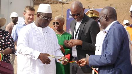 Macky Sall:«Mon ambition est de hisser le Sénégal dans le top 7 des pays exportateurs d'or d'ici 2035».