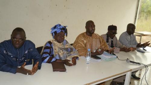 Kédougou: Mamadou Hadji Cissé a transmis les fiches de 4280 parrains à la déléguée régionale Mme Adja Aïssatou Aya Ndiaye,