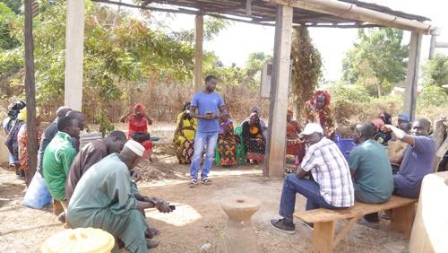 Kédougou: L'ISRA réunit les femmes de Niago et de Diouroup à Madina Kénioto