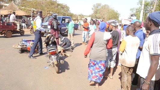 Kédougou: Choc entre deux motos Jakarta, une victime au sol…